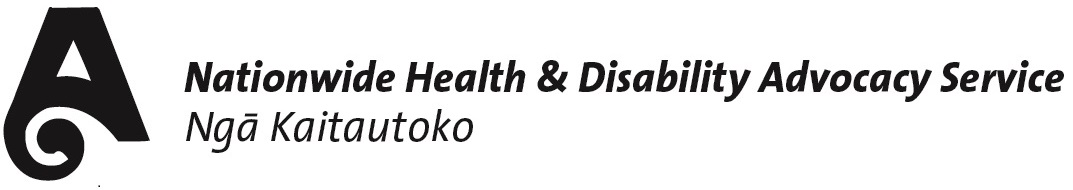 Health and Disability Commissioner